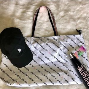 PINK VS 3 Pc Lot - Tote, Ball Cap & Swell Bottle